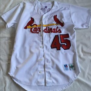 St. Louis Cardinals autographed Bob Gibson jersey